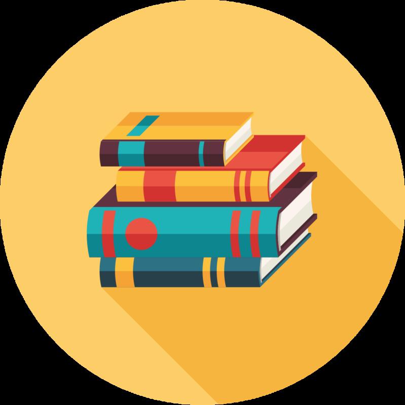 Pile de livre pour écoliers.